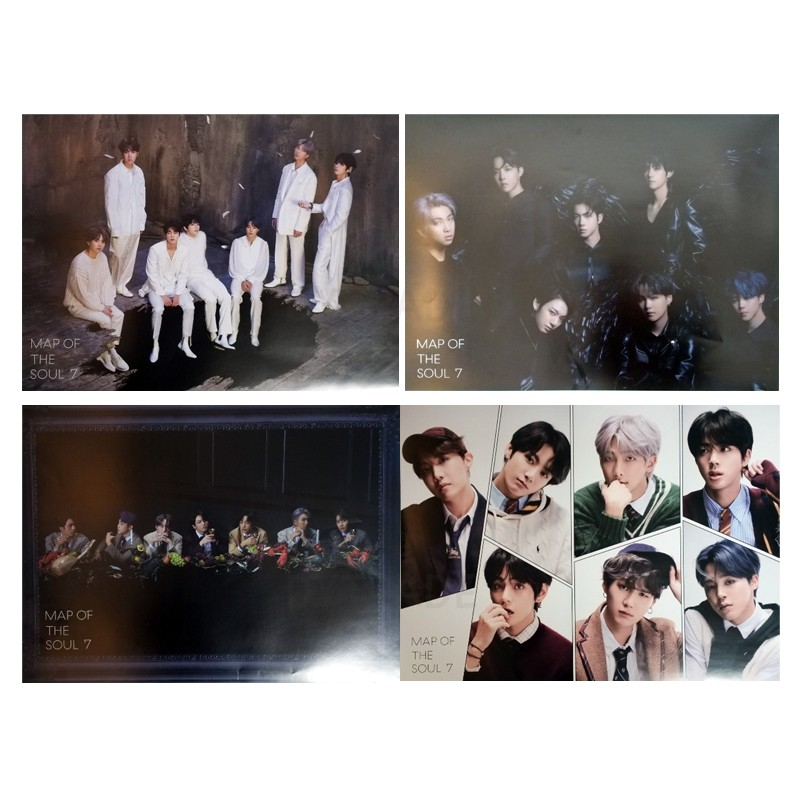 BTS MAP OF THE SOUL : 7 OFFICIAL POSTERS - KPOP STORE USA